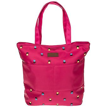 Tulip Front Pocket Tote Bag Pink by Equilibrium