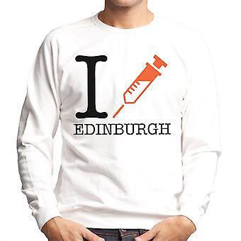 Trainspotting T2 I hjertet Edinburgh mænds Sweatshirt
