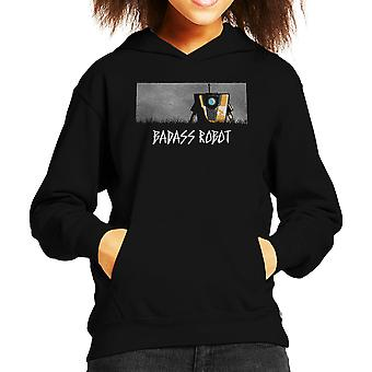 Badass Robot Borderlands Kid's Hooded Sweatshirt