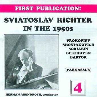 Sviatoslav Richter - Sviatoslav Richter in the 1950s, Vol. 4 [CD] USA import