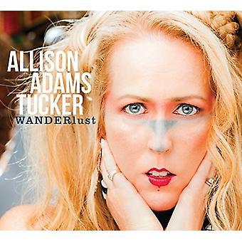 Allison Tucker Adams - Wanderlust [CD] USA import