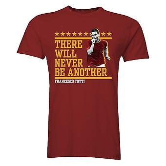 Francesco Totti There Will Never Be Another T-Shirt (Burgundy) - Kids
