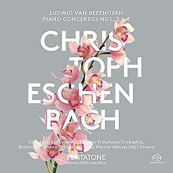 Beethoven / Boston Symphony Orchestra / Eschenbach - Piano Concertos Nos. 3 & 5 [SACD] USA import