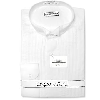 100 % coton chemise TUXEDO solide Biagio masculine