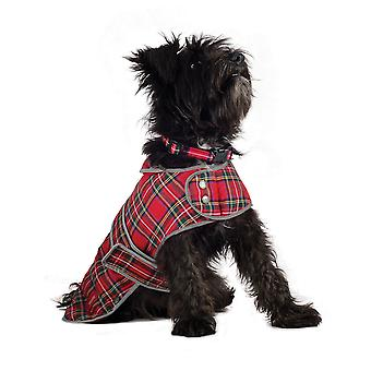 Ancol Pet Products Muddy Paws Highland Tartan Dog Coat