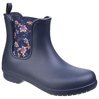 Crocodilos das mulheres/senhoras Freesail Chelsea Boots