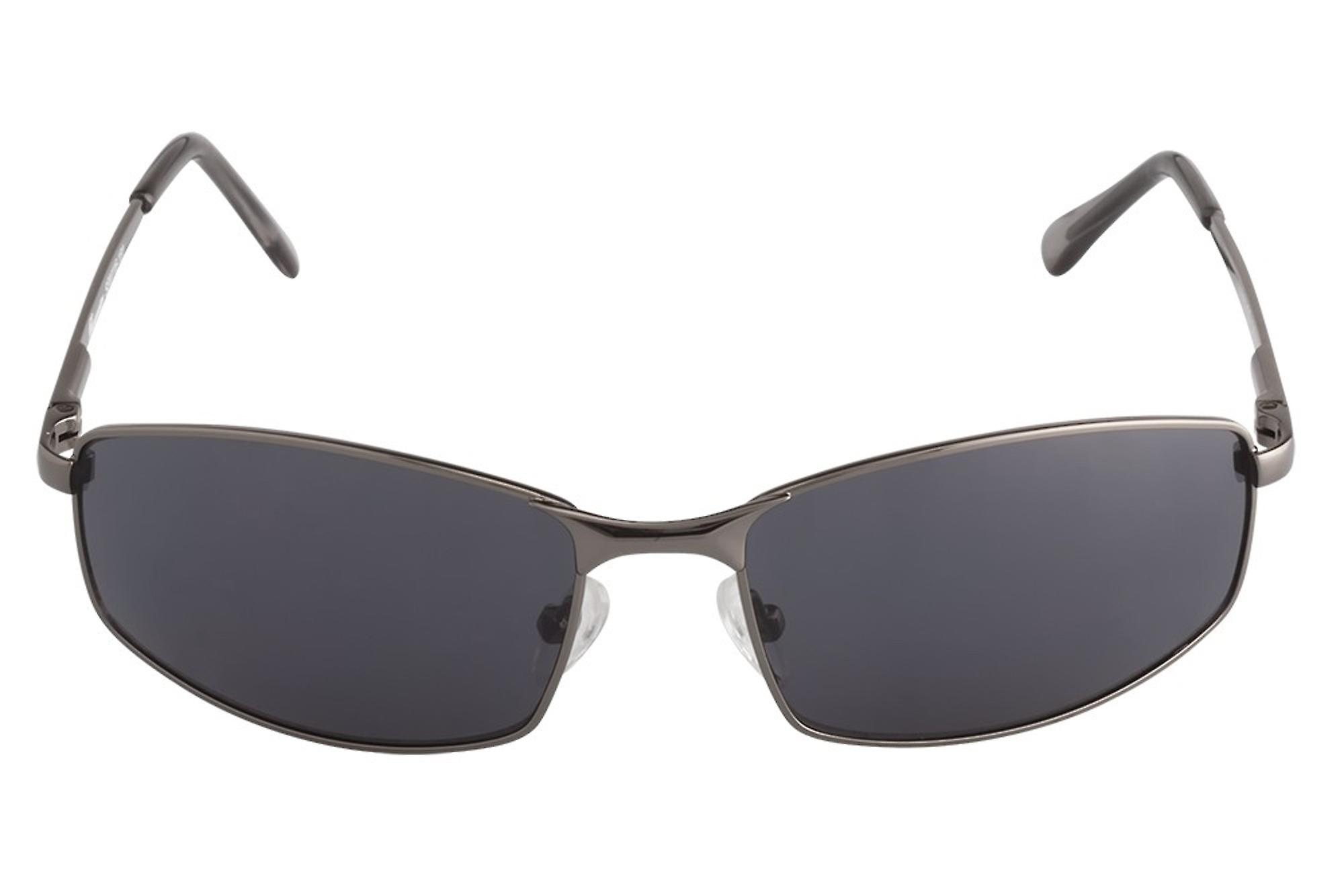 Classic sunglasses for men by Burgmeister with 100% UV protection | sturdy metal frame, high quality sunglasses case, microfiber glasses pouch and 2 year warranty | SBM116-181 Ohio