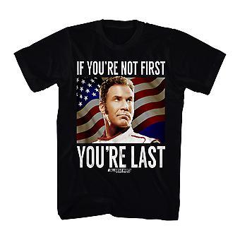 Talladega Nights You're Last Men's Black T-shirt