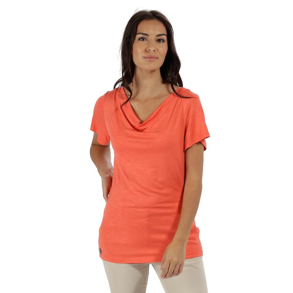 Regatta damska/Panie Francheska Coolweave hybrydowe spaceru T Shirt