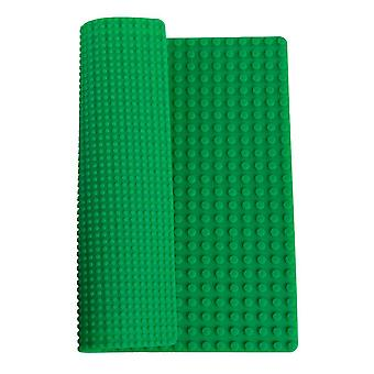 """PlayScapes 15"""" Portable Building Brick 2-Sided Play Mat - Compatible with Most Building Building Bricks"""