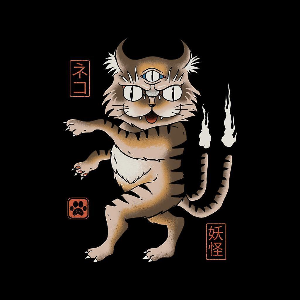 Chaqueta Varsity de yokai Cat infantil