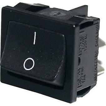 Arcolectric Toggle switch H8650VBAAG 250 V 10 A 2 X On/Off Klinke 1 PC