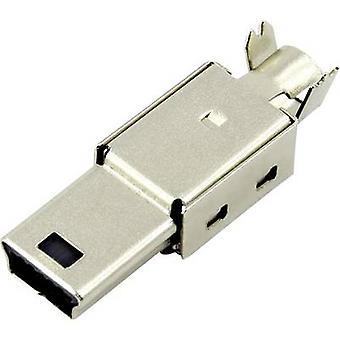 Mini USB B pistoke, suora DS1105-01-BBN0 DS1105-01-BBN0 Connfly Sisältö: 1 kpl