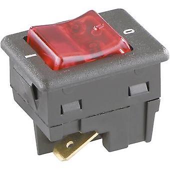 interBär Toggle switch 8005-002.01 250 V AC 16 A 2 x Off/On latch 1 pc(s)