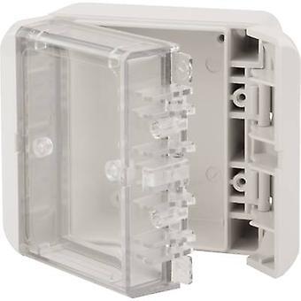 Bopla Bocube B 080805 PC-v0-G-7035 carcasă montare pe perete, consolă de montaj 80 x 89 x 47 policarbonat (PC) gri-alb (RAL 7035) 1 buc (i)