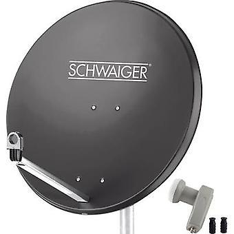Schwaiger SPI9961SET2 SAT system w/o receiver No. of participants: 2 80 cm