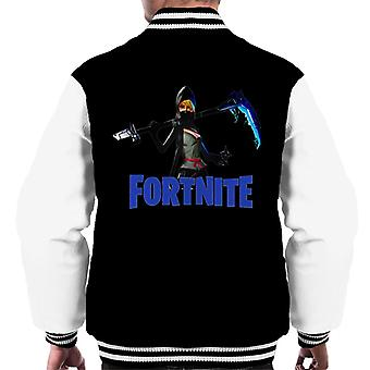 Fortnite Assassin Class Hero Scythe Skin Men's Varsity Jacket