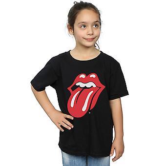ローリング ・ ストーンズの女の子古典的な舌 t シャツ