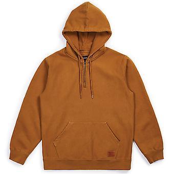 Brixton Longman Intl suéter con capucha lavado cobre