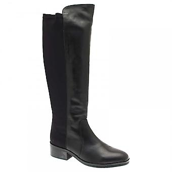 Pedro Miralles Women's Long Boots With Stretch Fit Back