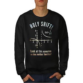 Science Math Funy Men BlackSweatshirt | Wellcoda