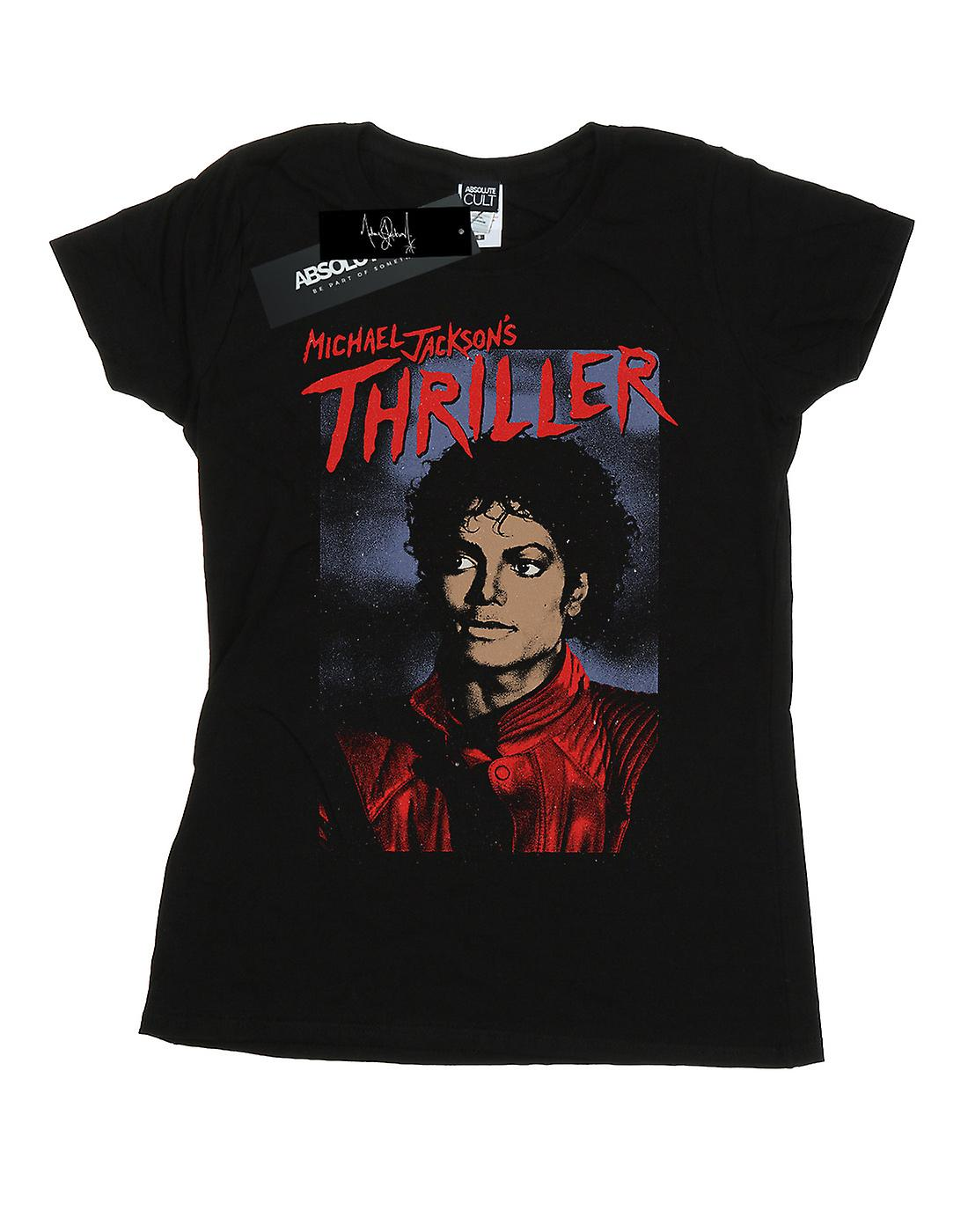 Michael Jackson Women's Thriller Poster T-Shirt