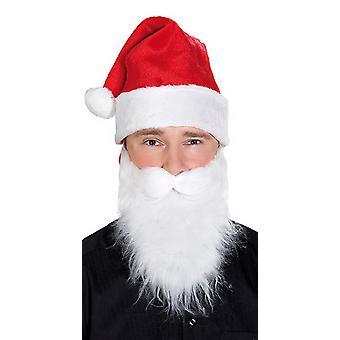 Weihnachtsmütze Samt