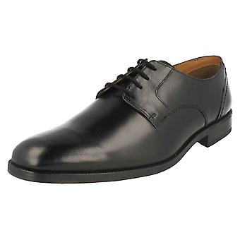 الجلد الأسود رجالي كلاركس الرسمي أحذية الربيع بكرة حجم المملكة المتحدة ز 7