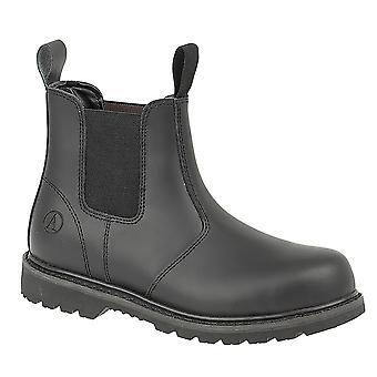 Amblers Unisex stalen FS5 Pull-On Dealer Boot / Womens Mens Boots