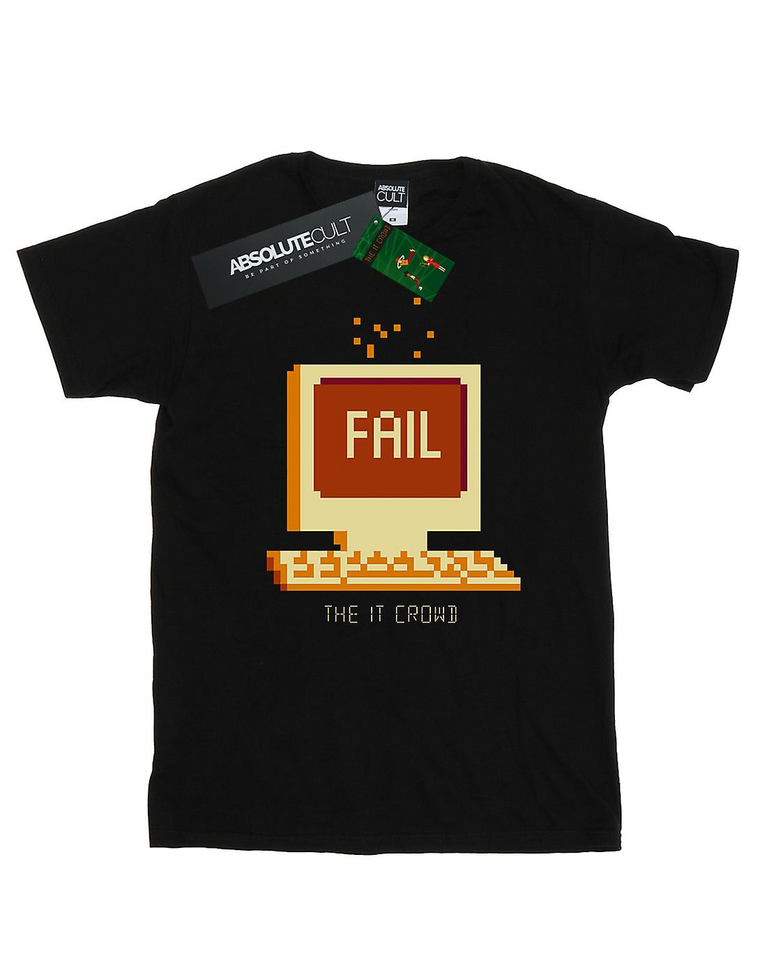 The IT Crowd Women's Fail Screen Boyfriend Fit T-Shirt