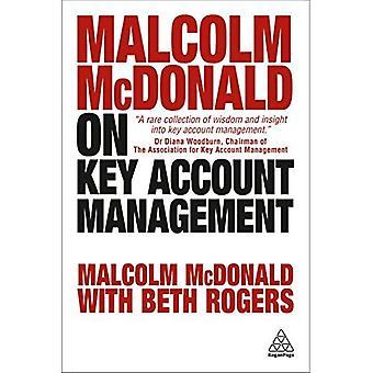 Malcolm McDonald op Key accountmanagement