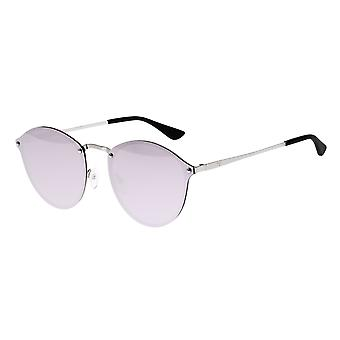 Sixty One Picchu Polarized Sunglasses - Silver/Lavender