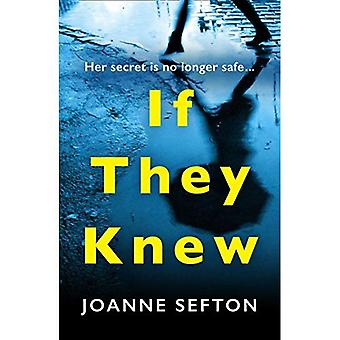If They Knew: The gripping� crime thriller you need to read this year