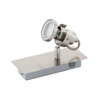Eglo - Tukon 3 LED Spot Satin nikkel væg lys EG94144