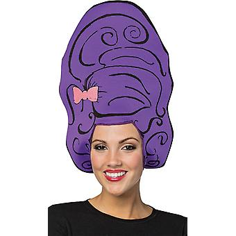 Ruche Purple perruque