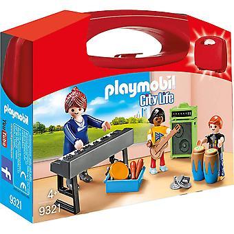 Playmobil 9321 muziek klasse draagtas