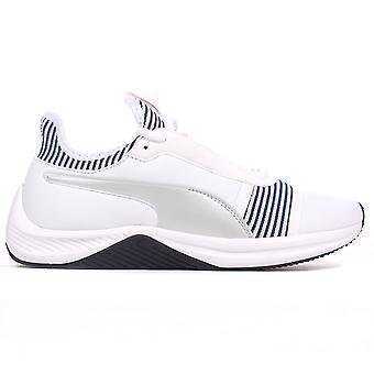 Puma Amp XT Womens Exercise Fitness Training Trainer Shoe White/Blue