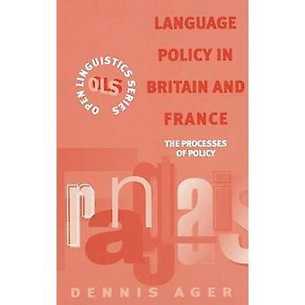 Sprogpolitik i Storbritannien og Frankrig ved Ager & Dennis Ernest