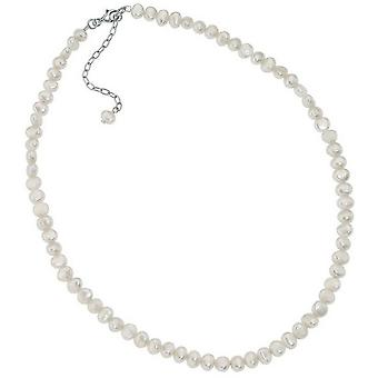 Beginnings Freshwater Pearl Single Row Necklace - White