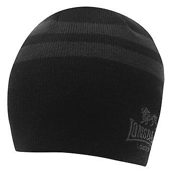 Lonsdale Mens 2 Stripe Hat Beanies