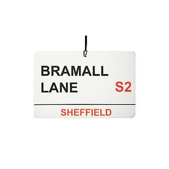 Sheffield Utd / Bramall Lane Street Sign Désodorisant