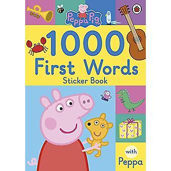 Peppa Pig - 1000 First Words Sticker Book - 9780241294642 Book