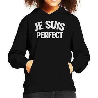 Je Suis Perfect Kid's Hooded Sweatshirt