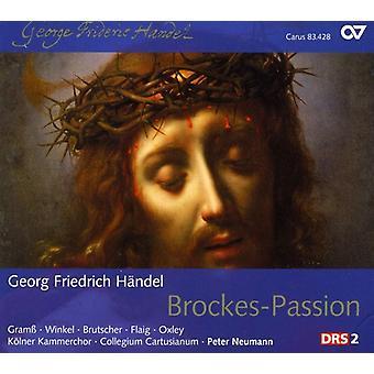 G.F. Handel - Georg Friedrich H Ndel: Brockes-Passion [CD] USA import