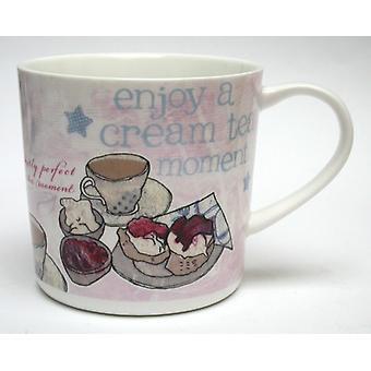 Alice Palace ' Nauti Cream Tea hetki ' muki