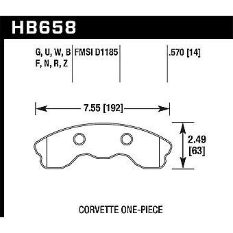 Hawk præstation HB658B. 570 HPS 5,0