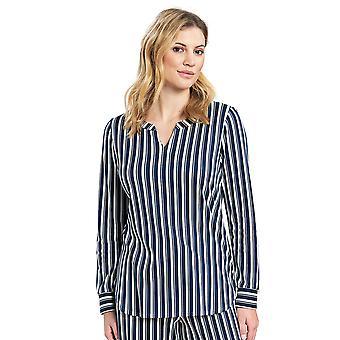 Féraud 3191130-11673 Naiset's Rento Tyylikäs Vihreä Metsä Puuvilla Pyjama Pusero
