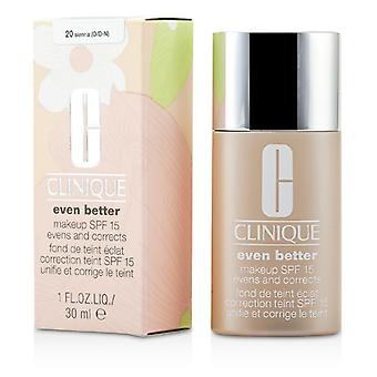 Clinique Even Better Makeup SPF15 (Dry Combination to Combination Oily) - No. 20/ WN124 Sienna 30ml/1oz