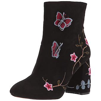 Nanette Lepore Womens LILLY Leather Round Toe Ankle Fashion Boots