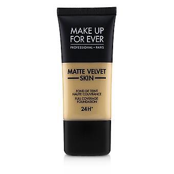 Make-up voor ooit mat fluweel huid volledige dekking Foundation-# Y255 (zand beige)-30ml/1oz